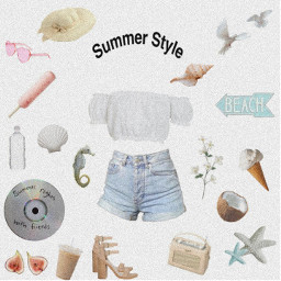 freetoedit summer summertime summervibes aesthetic aestheticedit edit png clothes sticker