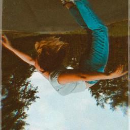 upsidedown perspective flip rotate freetoedit