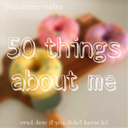 50factsaboutme