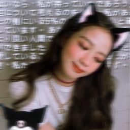 replay jisoo japanesetext catears catgirl edit catgirledit freetoedit