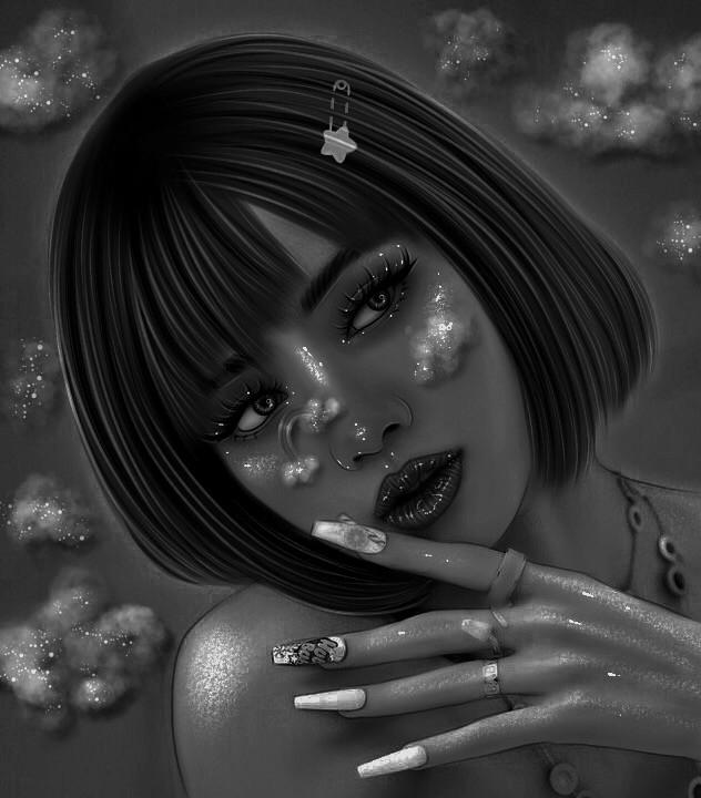 🖤 #lisa #lalisa #lisamanoban #lalisamanoban #lisablackpink #blackpink #edit #art #aesthetic #ibispaintxart #ibispaintx #lisafanart #kpop #kpopfanart #blackandwhite #dark #music #artistic #art #interesting