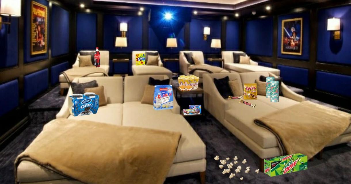 Movie Room🤪 #snacks #movieroom #imvuedit #imvubackground #imvuroom #imvu #chillroom #chill