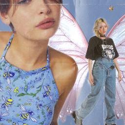 y2kedit y2kaesthetic magazine interesting art aesthetic aetheticedit indie outfit butterfly star paper papereffect blue pink cute japan indiekid indiekidaesthetic charlidamelio edit freetoedit