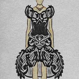 dubravka_m dubravka_m_art fashionable sketch fashionsketch illustration illustrationfashionsketch fashiongirl dasmodel fashionart artistic artsy model fashionblogger taurus taurusdress