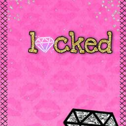 lockscreen diamonds glitter bling freetoedit