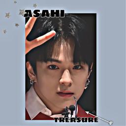 treasure treasureyg asahi yg korea japan koreaidol japanidol kpop idol freetoedit