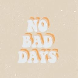 no nobaddays peachy aesthetic