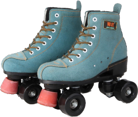 blue softblue rollerblades rollerskates clothesaesthetic clothes outfit shoes shoes4fashion fashion outfitaesthetic freetoedit