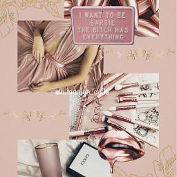 rosegold pink aesthetic rosegoldaesthetic pinkaesthetic wallpaper aestheticwallpaper wallpaperaesthetic sparkle gold roses bardie butterfly freetoedit