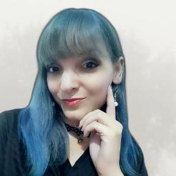 bluehair cabeloazul frannies2 model modelo freetoedit