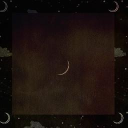 moon stars paper freetoedit