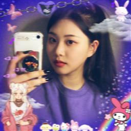 swan parksujin purplekiss purplekissswan freetoedit