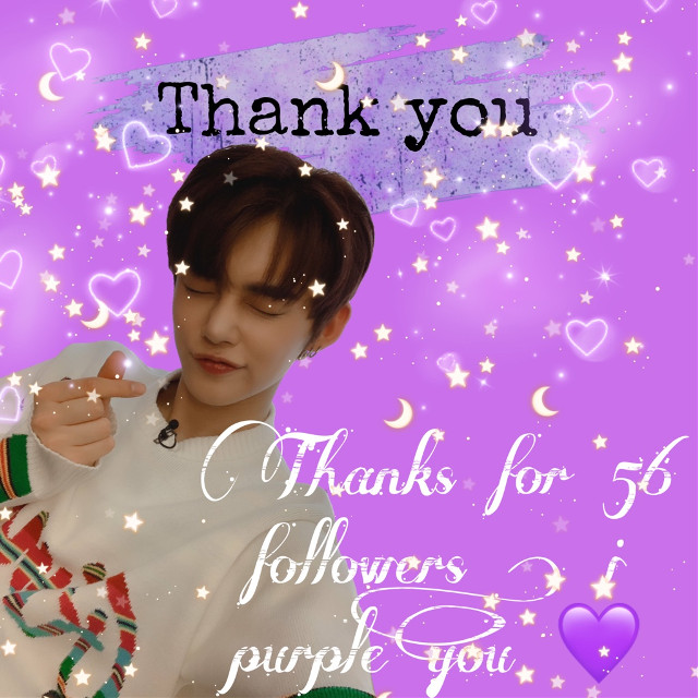 #purple #thankyou #56followers