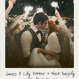 jily jamespotter lilypotter lilyevans mauraders mauradersera mauradersmap happilyeverafter wedding harrypotter