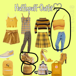 hufflepuffpride harrypotterfan freetoedit