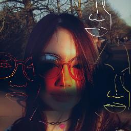 faces selfie different moods freetoedit