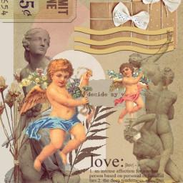 statues sculptures renaissance vintageeffect artistic aesthetic madewithpicsart freetoedit srccherubangels cherubangels