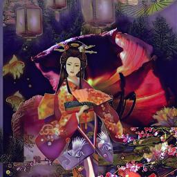 replay freeedit geishaedit fantasyart japanesebeauty artography freetoeditremix stickeredit umbrella rpgaesthetic artographybypamela oriental goldfish daylilycloseup daylily japanesestyle edittheseinyourownstyle sharethis sharemyaccountplease freetoedit