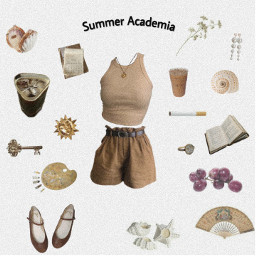 freetoedit summer summeasthetic aes picsartedit edit aesthetic brown academia lightacademia png