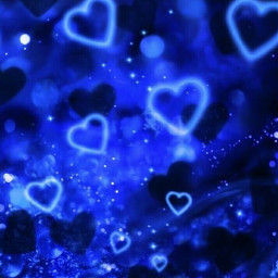 blue 2000s blueaesthetic y2k heart pretty glitter background wallpaper 2000saesthetic y2kaesthetic heartbackground freetoedit