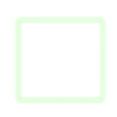 freetoedit neon glow green square