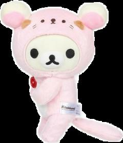 rillakkuma cute pink rillakkumasticker rillakkumastickers notmany s freetoedit