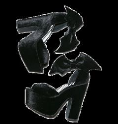 heels dollskill bat bats black freetoedit