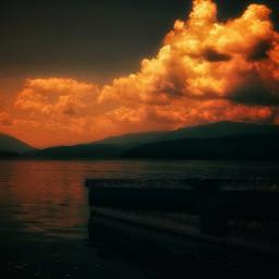 myphotography nature sky clouds sunset sunshine photography background freetoedit