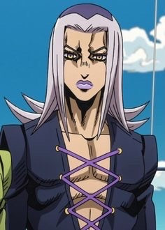 I want to steal abbacchios style but nOOOOOO i was born insecure about every part of my body #johnisinsecure #greasyemorats #jjba #abbacchio