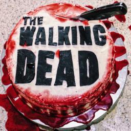 thewalkingdead birthdaycake
