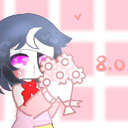 freetoedit аниме софт розовый цветы