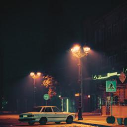 freetoedit streetphotography cyberart cyberpunktheme pinkandblue