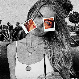 polaroid girl freetoedit