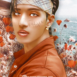 ateez ateezwooyoung wooyoung kpop manipedit vintage jungwooyoung