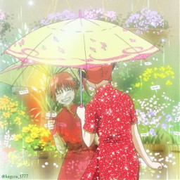 gintama kagura kagurayato yatokagura gintamaicon animeicon animegirl animeaesthetic freetoedit