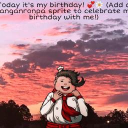 birthday uwu owo teruteru teruteruhanamura danganronpa danganronpaaprite addadanganronpacharater freetoedit