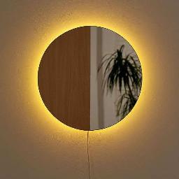 arkaplan duvarkağıdı wallpaper background yellow sarı mirror ayna light ışık freetoedit