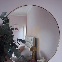 arkaplan duvarkağıdı wallpaper background mirror ayna leaf yaprak freetoedit