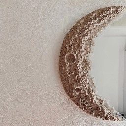 arkaplan duvarkağıdı wallpaper background mirror ayna moon ay freetoedit