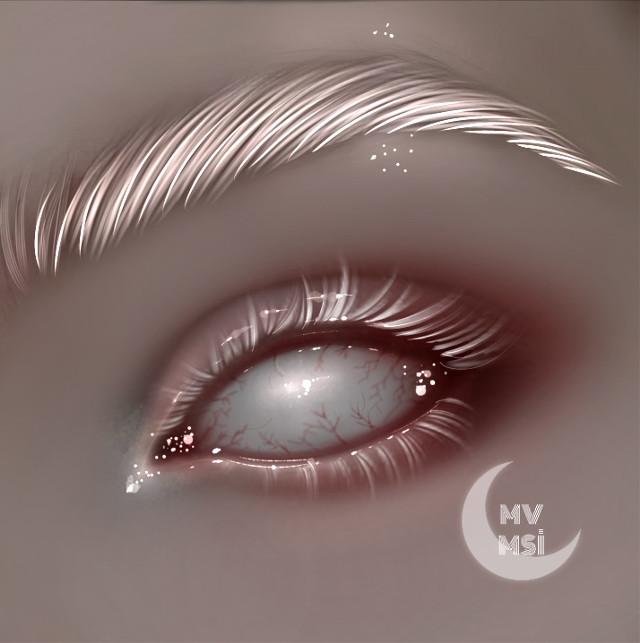 Hi, I'm back ♡  #red #redeyes #gothic #gothicart #ibispaintx #ibispaintxart #art #artist #white #interesting #aesthetic #tumblr #eyes #eyesclosed #digitalart #digitalmakeup #artwork #whiteeyes