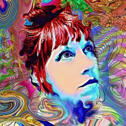 meltwithyou 60saesthetic psychedelic meltdown trippy freetoedit