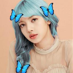 lalisamanoban blackpink butterflylalisa freetoedit