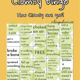 clumsybingo freetoedit