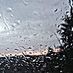 freetoedit window rain sunset nature