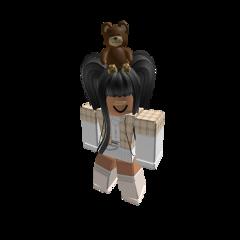 roblox girl robloxgirl bear uwu freetoedit