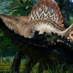 spinosaurus ankylosaurus
