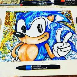 sonic sonicthehedgehogmovie sega segasonic draw pencil