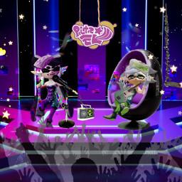freetoedit callieandmarie splatoon squidsisters splatoon2