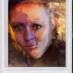 artisticportrait art collage freetoedit