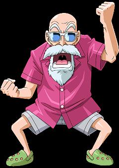 masterroshi mutenroshi roshi db dragonball dbz dragonballz freetoedit
